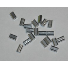 Crimp Alloy SingleMini 1.5mmx9mm 1000pcs per bag